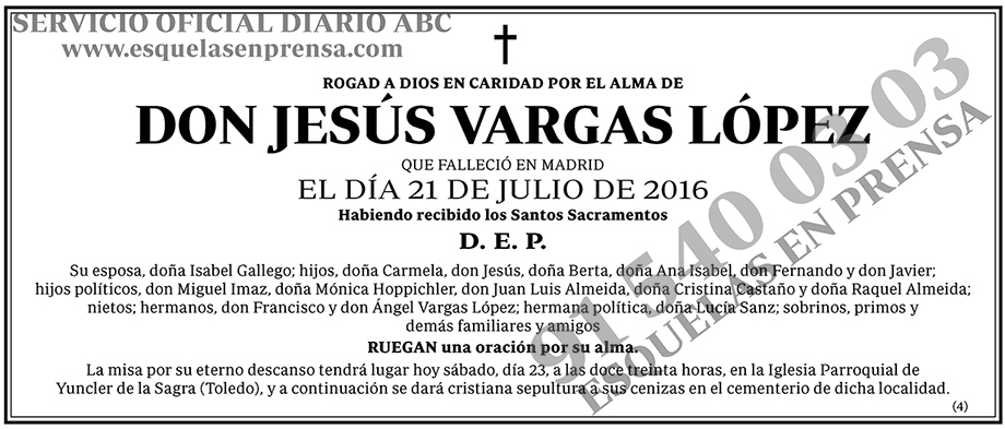 Jesús Vargas López